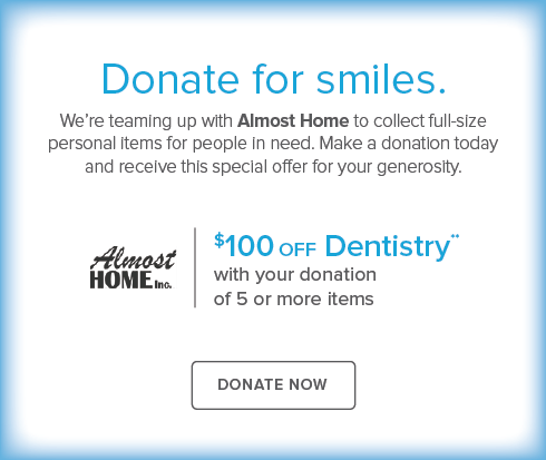 Brighton Modern Dentistry and Orthodontics - Donate Almost Home